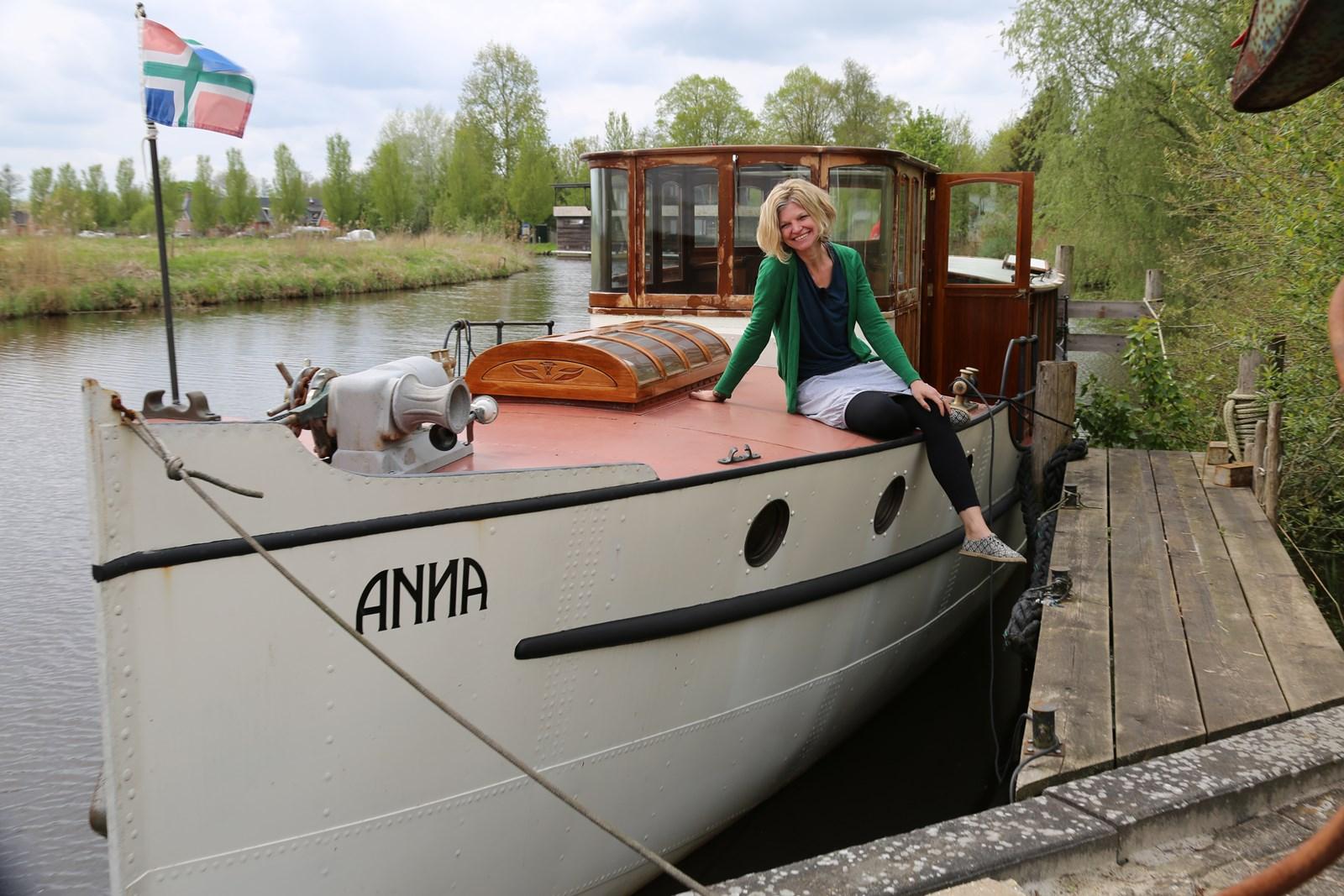 Wonderlijk SALONBOOT ANNA TE GAST IN MARITIEM MUSEUMHAVEN - watersport-tv HF-46