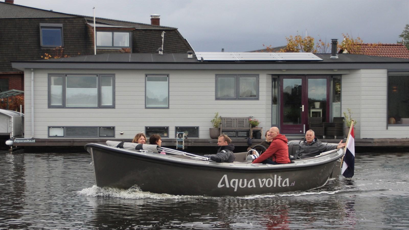 Elektrische Sloep Als Powerbank Voor Thuis Watersport Tv