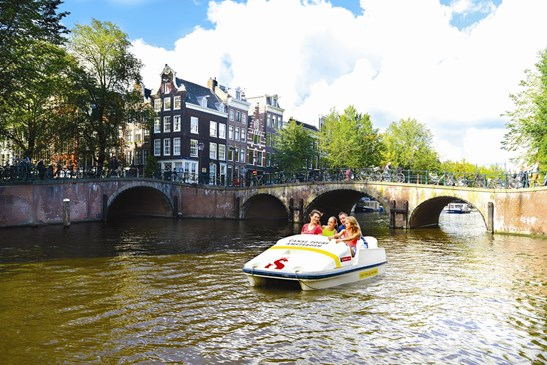 Stromma Canal Tours Amsterdam Pedal Boat Waterfiets